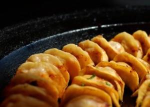 Shanghai food: fried dumpling
